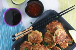 Thai Chicken Lemongrass Cakes Recipe
