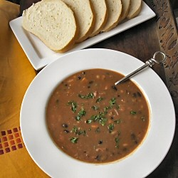 Three Bean Smoked Turkey Soup