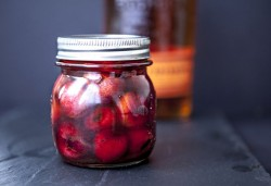 Vanilla-Bourbon Cherries