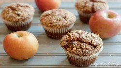 Vegan Apple-Raisin Bran Muffin