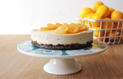Vegan Meyer Lemon Cashew Cheesecake Recipe