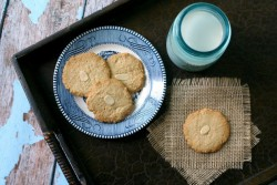 Vegan Triple Almond Cookies Recipe