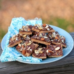 Walnut and Almond Rocha