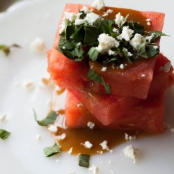 Watermelon and Mint Salad with Feta