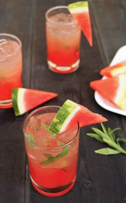 Watermelon Tarragon Cooler