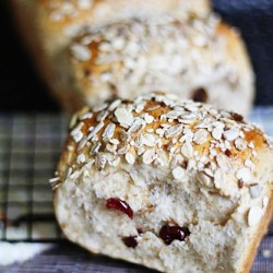 Wholemeal Cranberry Loaf