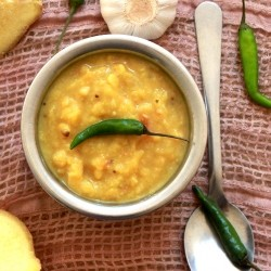 Yellow Lentil Curry