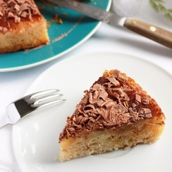 Apple Cake with Chocolate Recipe