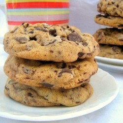 Bittersweet Chocolate Chunk Cookies