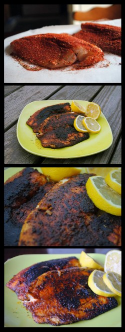 Blackened Tilapia Fish