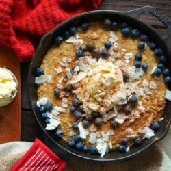 Blueberry Oat Bake