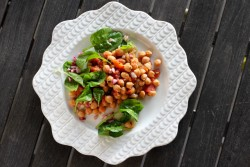 Braised Chickpeas