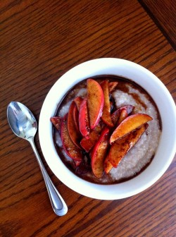 Buckwheat Cereal with Apples Recipe