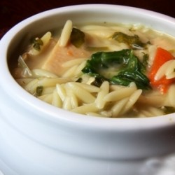 Chicken Vegetable Orzo Soup