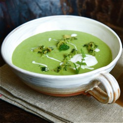 Chilled Courgette Soup