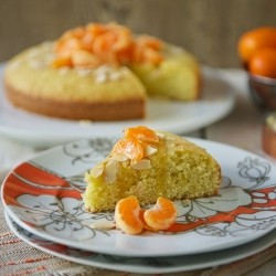Citrus-Almond Olive Oil Cake