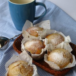 Coconut and Lemon Muffin