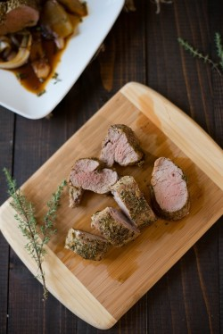 Easy Roasted Pork Tenderloin