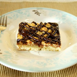 Grated Squares With Plum Jam