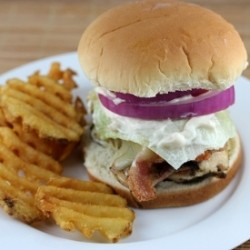 Grilled Bacon Jack Chicken Sandwich Recipe