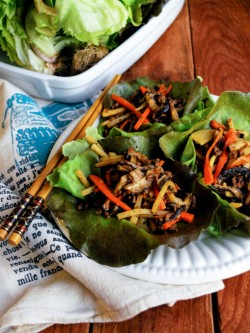 Ground Beef Lettuce Wraps Recipe