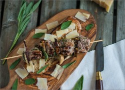 Lamb and Porcini Kebabs Recipe