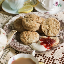 London Fog Scones