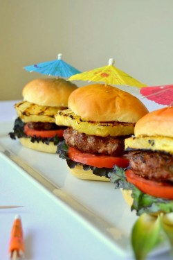 Luau Pork Sliders