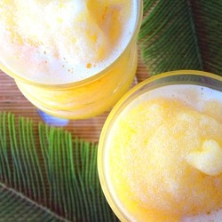 Orange Green Tea Slushie Recipe