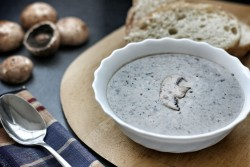 Rich and Creamy Mushroom Soup Recipe
