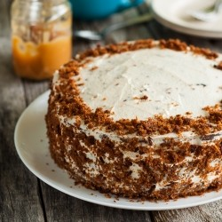 Salted Caramel Carrot Layer Cake Recipe