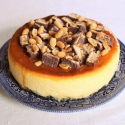 Snickers Bar Cheesecake