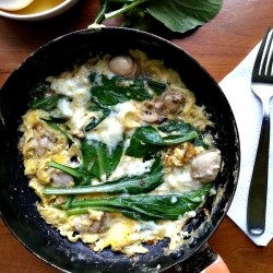 Taiwanese Oyster Omelette Recipe