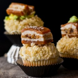 Vanilla Bacon Cupcakes Recipe