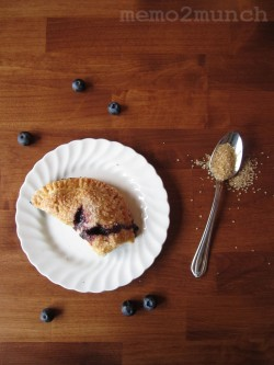 Vegan Blueberry Hand-Pies
