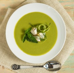 Asparagus Soup with Lump Crabmeat Recipe