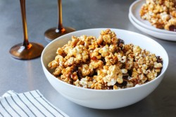 Bacon Caramel Popcorn Recipe