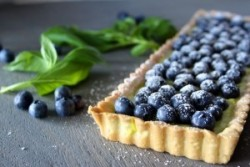 Blueberry Basil Tart Recipe