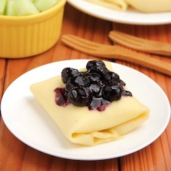 Blueberry Blintzes Recipe