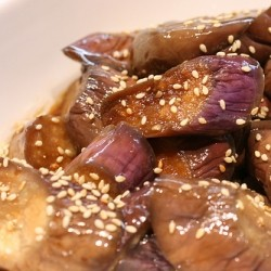 Chilled Sesame Eggplant