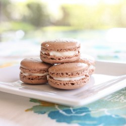 Chocolate Macarons with Kahlua Buttercream Recipe