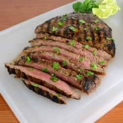 Citrus-Garlic Flank Steak Recipe