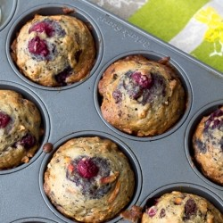 Dark Chocolate Raspberry muffins Recipe
