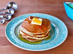 Greek Yogurt Poppy Seed Pancakes Recipe