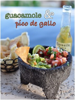 Guacamole and Pico de Gallo Recipe