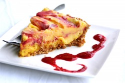 Mango Blackberry Ice Cream Pie Recipe