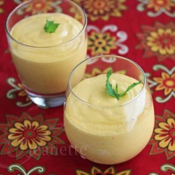 Mango Coconut Mint Smoothie Recipe