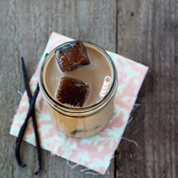 Maple Vanilla Iced Coffee Recipe
