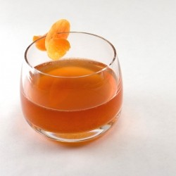 Midnight Punch Cocktail with Rum and Ginger Beer