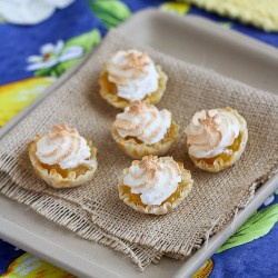 Mini Lemon Meringue Pie Fillo Tartlets Recipe
